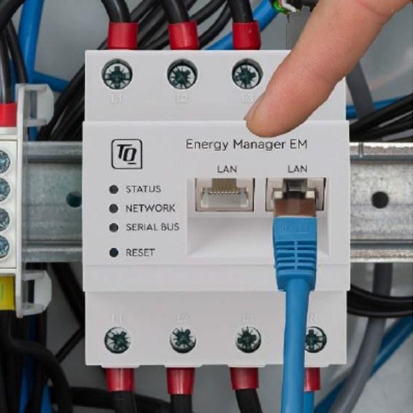 Energy Manager EM420 - gestionnaire d'énergie, compteur intelligent