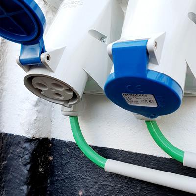 prise electrique professionnelle cee bleue 32A - Comment recharger une voiture électrique ?