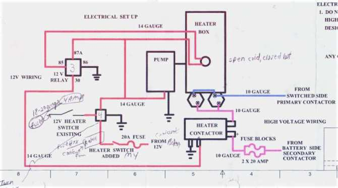 hot water heater amps