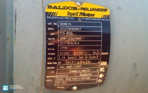19 Essential Information You Can Find On Motor Nameplate | EEP