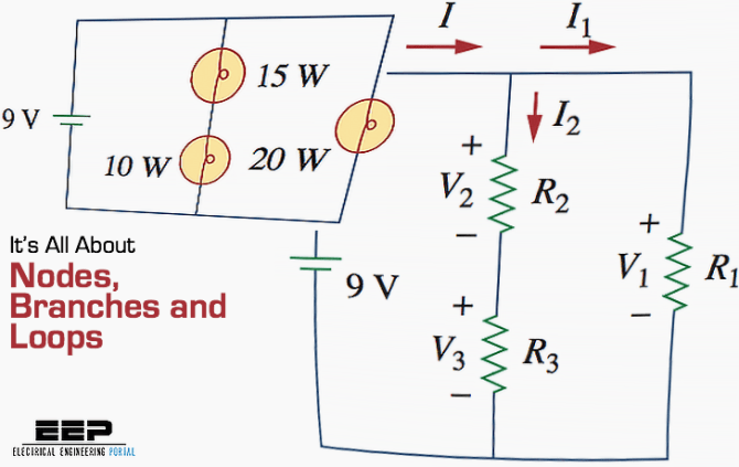 electric circuits it's all about nodes branches and loops