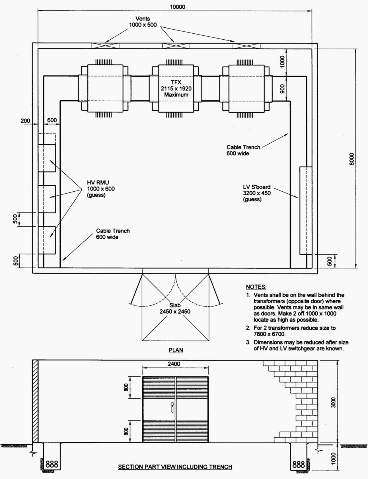 7 Typical Layout Designs Of 11kv Indoor Distribution Substation
