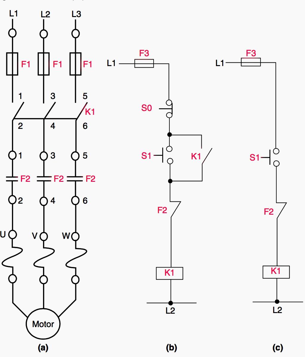 Dol Starter Motor Wiring Diagram Schematic Diagrams Crompton Control For Data U2022 Lamp