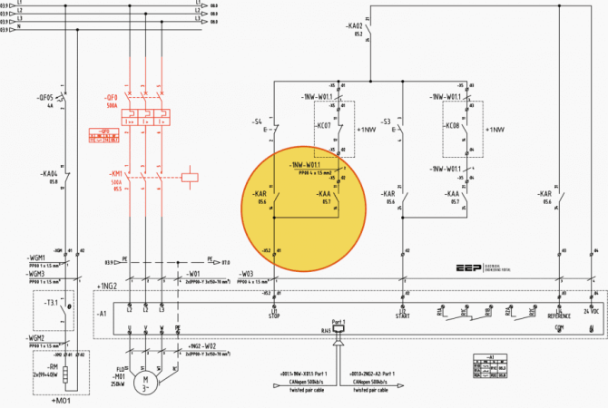 learn to read and understand single line diagrams  wiring