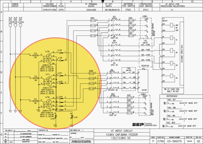 how hard can be analyzing mv switchgear wiring diagrams and