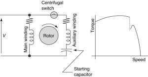 Types of Single Phase Induction Motors | Single Phase Induction Motor Wiring Diagram