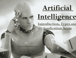 What is Artificial Intelligence AI – Introduction, Types and Application Areas