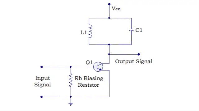 Circuit Diagram of Class C Power Amplifier