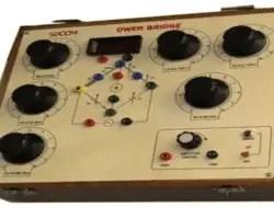 Owen Bridge Circuit – Theory, Phasor Diagram, Advantage, Disadvantage