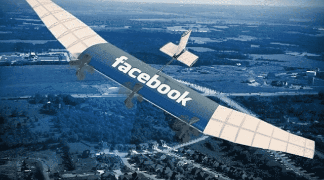 Use of Drones for Providing Internet by facebook