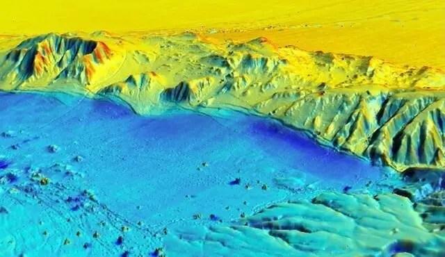 Image of 3-D Laser Map using LIDAR
