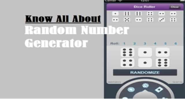 Introduction to Random Number Generator