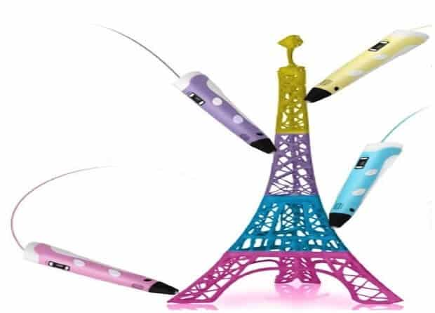 Prototype of Eiffel Tower created by 3D Printing Pen