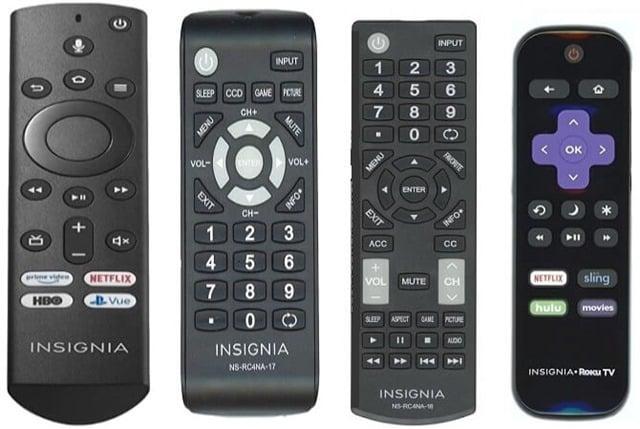Insignia Remotes