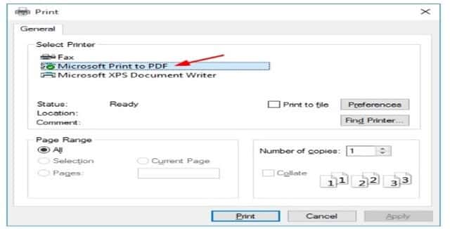 Converting to pdf format (1)