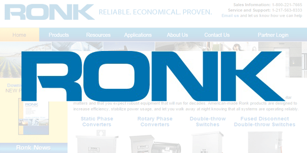Ronk Debuts New, User-Friendly Website