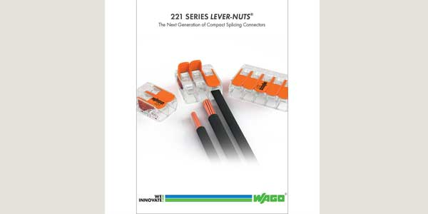 New Product Literature for 221 Series Compact Splicing Connectors