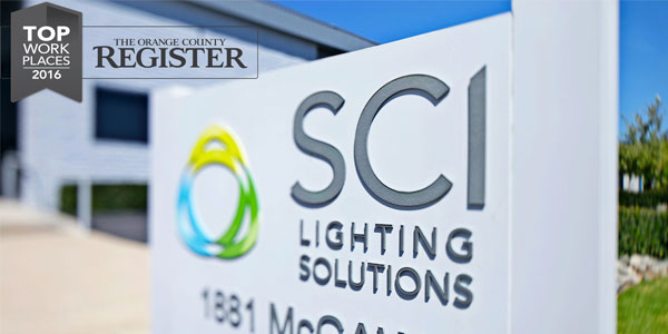 The Orange County Register Names SCI a 2016 Top Workplace
