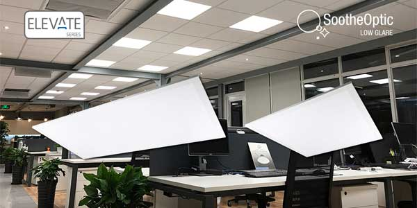 GREEN CREATIVE Launches Elevate Series Panel LED Luminaires
