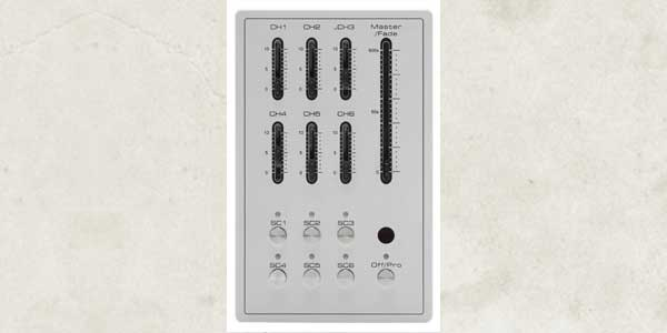 New Fader-Based, Wall-Mount Controller AL Fade 6 Pro Available from Acclaim Lighting