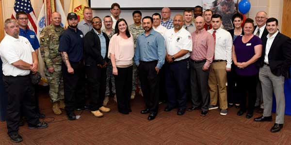 Transition to Trades Program Graduates 117thSoldier from HVAC, Electrical & Plumbing Trades