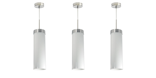On-Trend LED GLASS Cylinder Pendant Now Offered by Nora Lighting