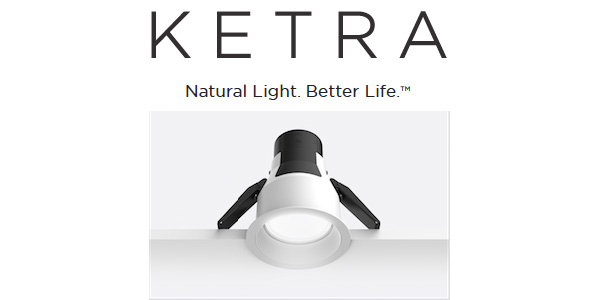 Ketra's Retrofit Downlight D4R Offers State of the Art Natural Light Technology