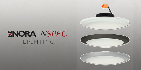Nora Lighting Introduces AC Opal LED, Easily Mounts over Standard J-Box