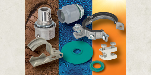 Bridgeport Fittings' Exposed Locations Product Solutions Reliably Stand Up to the Elements