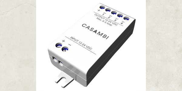 Casambi Launches Easy-To-Install Wireless Dimmer for LED Strips and  Constant-Voltage LED Modules