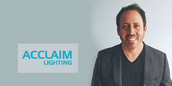 Lighting Veteran Michael Tortora Joins Acclaim Lighting
