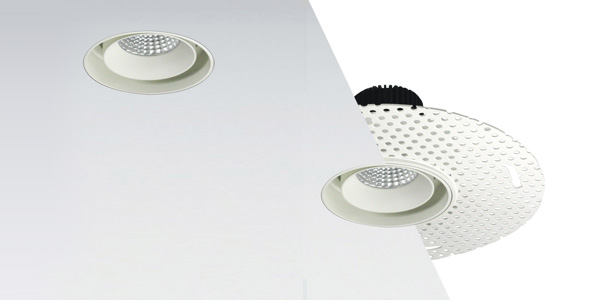 nora lighting popular iolite led series now features trimless and