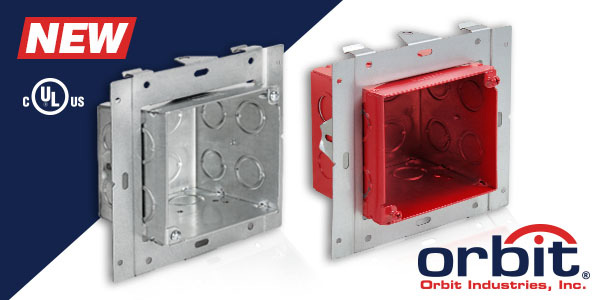 "Orbit's UMAB: The Best Way To Mount Extra Deep 4"" Square Boxes"