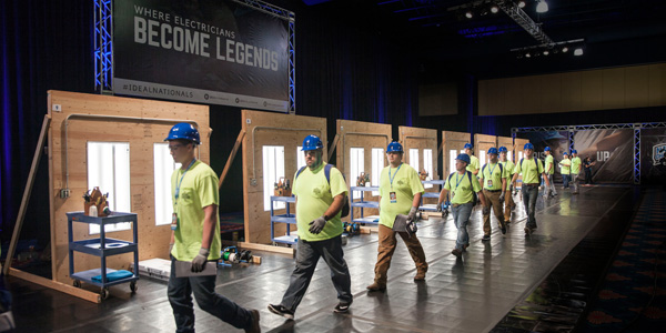 Watch America's Elite Electricians Compete for $500k In Cash, Prizes During Ideal National Championship TV Special Airing in January