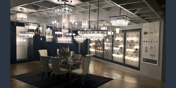 progress lighting expands, renovates showroom at dallas market