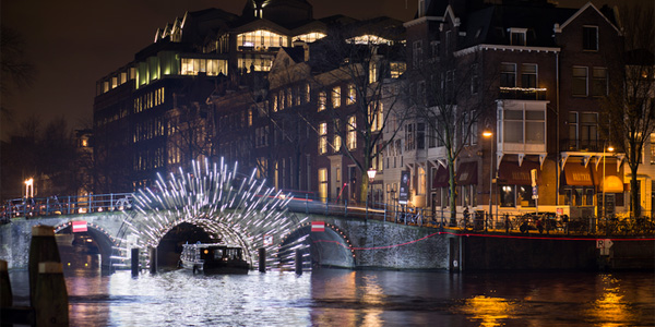Sixth Edition of Amsterdam Light Festival International Success