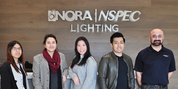 Nora Lighting Brings New Hires on Board as Business Continues to Expand