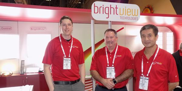 Bright View Technologies - Michael Schaffer, Michael Michie, Bing Shen