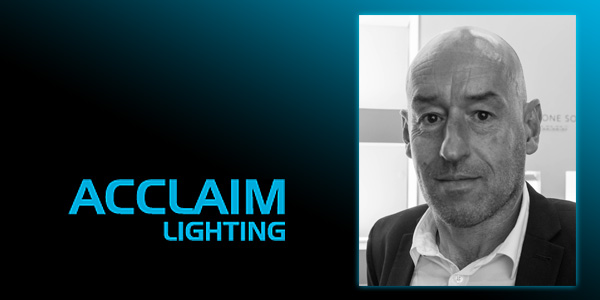 John Saunders Appointed International Sales Manager at Acclaim Lighting