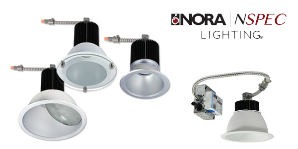Nora Lighting Sapphire Ii High Lumen LED Downlight Features New CREE COB