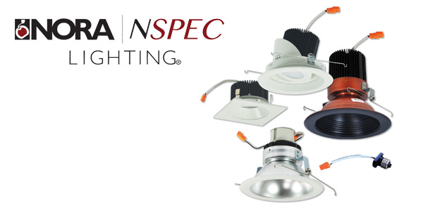 Nora Lighting Marquise II Features 900 to 2500 Lumens for Light Commercial/High End Residential Installs