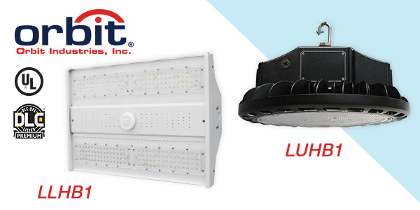 Orbit Industries Introduces DLC-Premium LED High Bay Light Fixtures