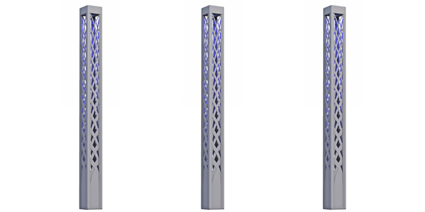 HessAmerica Introduces COLONNADE:  Decorative Architectural Light Column
