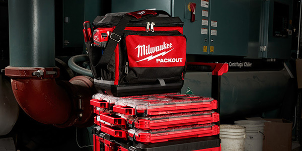 Milwaukee Announces 3 New PACKOUT Additions: A Tech Bag, Backpack, and Cooler!