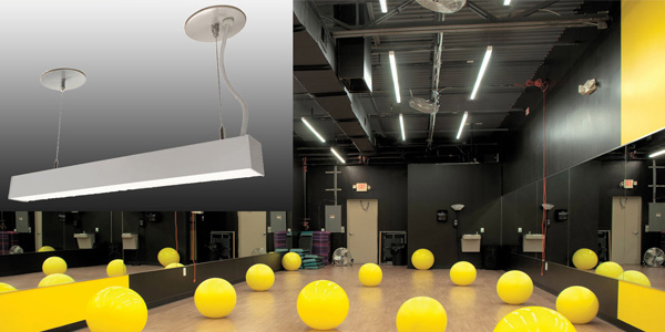Nora Introduces L-Line Linear LED Series with Surface and Pendant Mountings