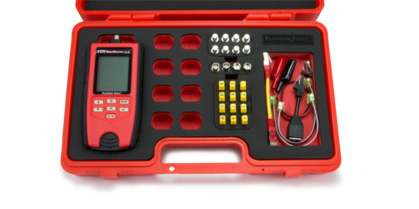 Platinum Tools Announces New VDV MapMaster 3.0 Cable Tester Kit