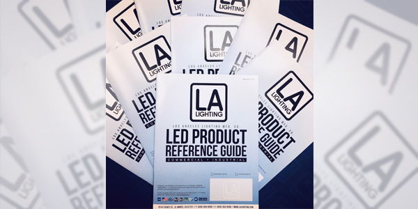 Los Angeles Lighting Manufacturing Introduces LED Product Reference Guide