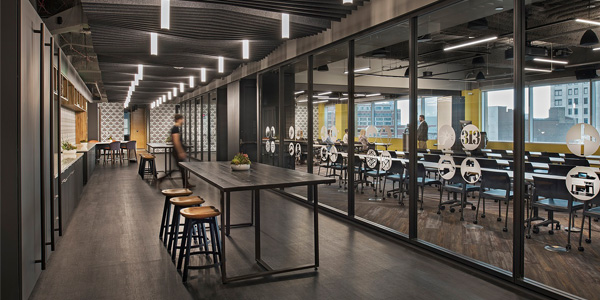 Lighting is Anything but Corporate at Microsoft Technology Center
