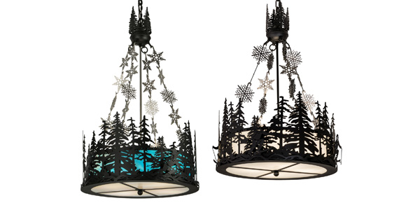Meyda Custom Lighting Unveils Alpine Family of Customizable Decorative Lighting