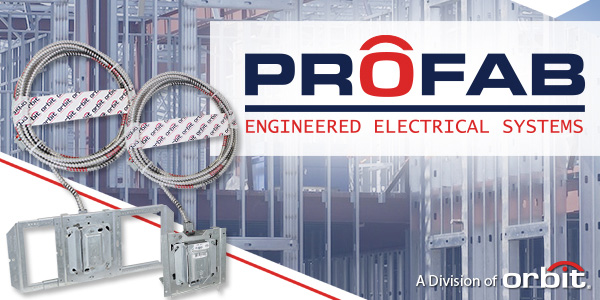New PROFAB Service gives Electrical Contractors instant Prefab Capabilities, with Zero Overhead